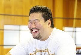 笑顔の佐々木健介