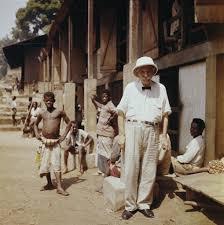 アフリカのガボンを聞きんと伝染病から救った外科医シュバイツァー