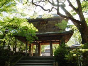 決起の舞台「功山寺」(山口県下関市)