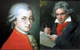 師匠と弟子、モーツァルトとベートーヴェン