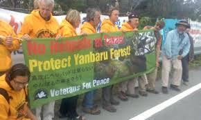 沖縄の生態系を破壊する米軍ヘリパッド