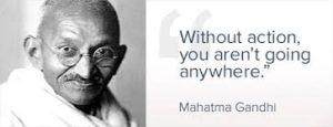 非暴力でインド独立を勝ち取った偉人ガンジー