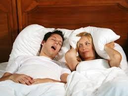 夫婦の悩み、いびきがうるさい時の対処法